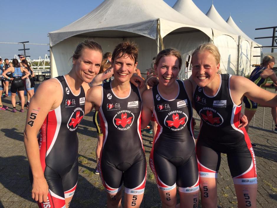 De dames van Cerberus1 in Rotterdam