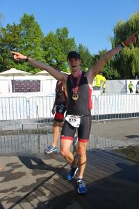 Wouter Lambermont voltooit Ironman Zürich